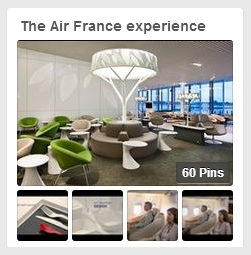 Pinterest: The Air France experience - Born To Be Social