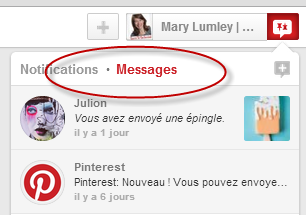 How To Use The New Pinterest Message Feature For Your Business | Born To Be Social