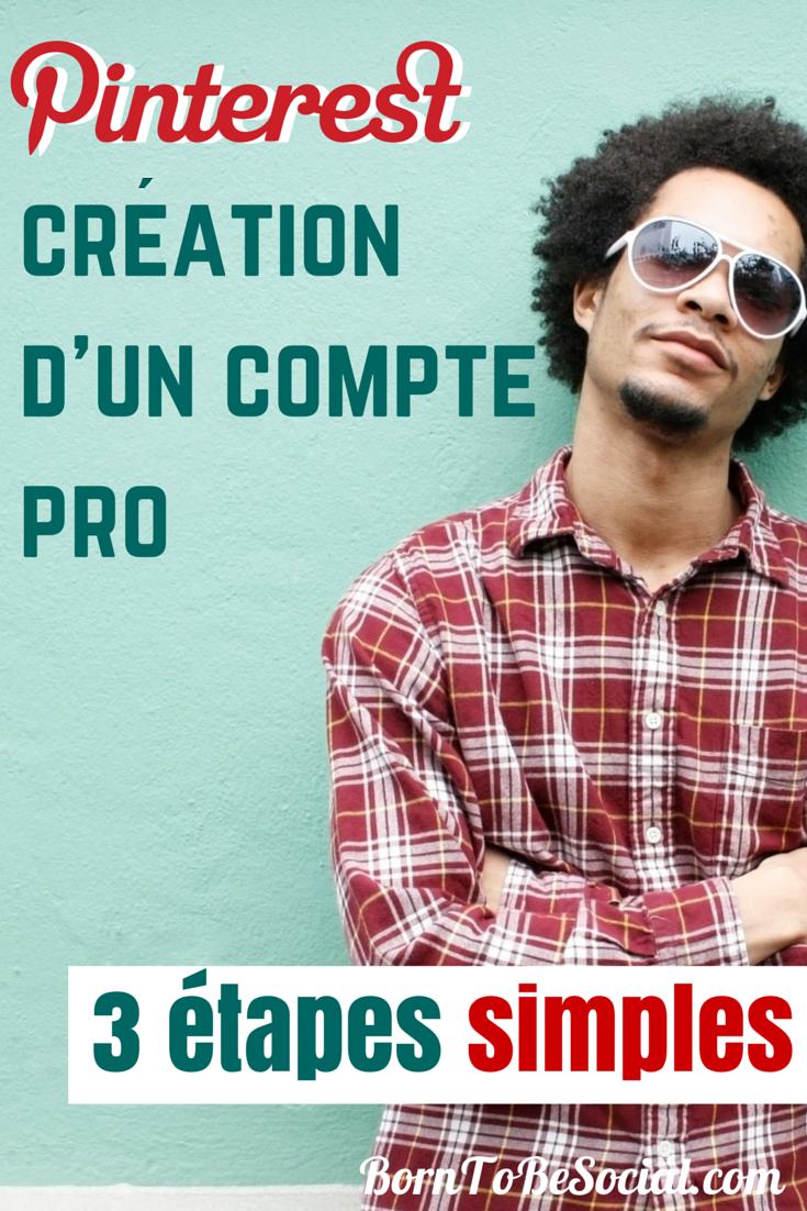 COMMENT CRÉER UN COMPTE PRO SUR PINTEREST - 3 ÉTAPES SIMPLES | Vous avez décidé de vous lancer dans le marketing de votre entreprise sur Pinterest, mais vous vous demandez par où commencer ? Dans cet article, je vous donnerai quelques conseils pratiques sur la configuration de votre compte Pro. La création d'un compte Pro sur Pinterest est assez simple. Let's go! via #BornToBeSocial