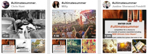 #ultimatesummer - Pinterest competition Paul Mitchell UK