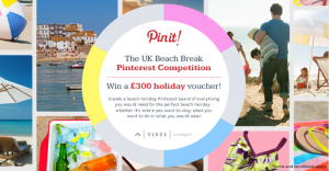 UK Beach Break - Pinterest Competition, Sykes Cottages